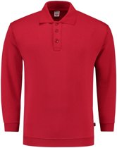 Tricorp Polosweater boord - Casual - 301005 - Rood - maat S