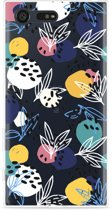 Sony Xperia X Compact Hoesje Abstract Flowers
