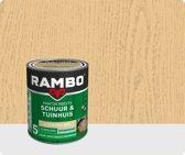Rambo Schuur & Tuinhuis pantserbeits zijdeglans transparant kleurloos 0000 750 ml