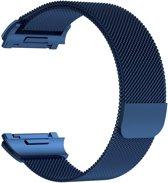 Fitbit Ionic Luxe Milanees bandje |Blauw / Blue| Premium kwaliteit | Maat: S/M | RVS |TrendParts