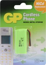 GP Batteries T382 550mAh 2.4V vervangbatterij voor draadloze telefoon