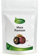 Maca Premium capsules - met Rode, Zwarte en Gele Maca poeder