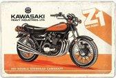 Kawasaki Z1 900 DOHC Metalen Bord 20 x 30 cm