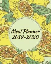 Meal Planner 2019-2020: Track And Plan Your Meals - Menu Planning Pages with Weekly Grocery Shopping List: Meal Planner: Track And Plan Your M