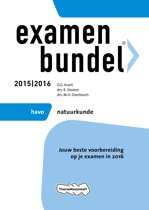 Omslag van 'Examenbundel - Havo natuurkunde 2015/2016'