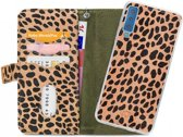 Mobilize 2in1 Gelly Wallet Zipper Case Samsung Galaxy A7 2018 Olive/Leopard
