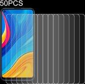 Let op type!! 50 PCS voor Huawei genieten 10 9H 2.5 D scherm gehard glas film