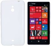 Nokia Lumia 1320 - hoes, cover, case - TPU -  wit