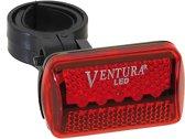 Ventura Licht (rood) op batterij met 2 functies