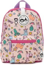 Babymel Zip & Zoë Kid's Mini Backpack Llama Roze