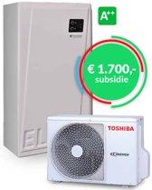 Elga hybride warmtepomp met Honeywell touch thermostaat