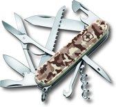 Victorinox Huntsman Zakmes - 15 Functies - Desert Camouflage