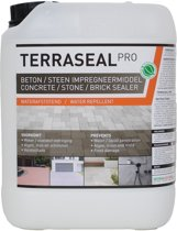 Steen en beton impregneer- Terraseal Pro - transparant impregneer - Beton, bestrating, balkons, terrassen, en voegen waterdicht maken