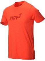 inov-8 Tri Blend Division T-shirt Heren, red Maat L