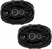 Kicker 6x9 DSC6930 coaxiaal 3-weg speakerset