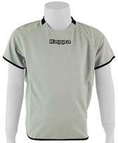 Kappa Rounded Shirt - Sportshirt - Kinderen - Maat 164 - Light grey