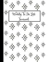 Weekly to Do List Journal