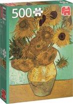 Van Gogh Zonnebloemen - Puzzel 500 stukjes
