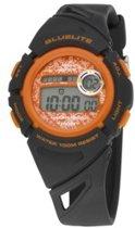 Nowley 8-6237-0-3 digitaal horloge 37 mm 100 meter zwart/ oranje