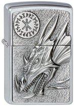 Aansteker Zippo Dragon with Amulet