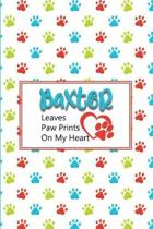 Baxter Leaves Paw Prints on My Heart