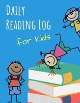 Daily Reading Log for Kids