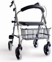 CHK rollator Elephantje Hard zitje - rugsteun - stokhouder - Gewicht 6,6 kg