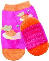 anti-slip sokken Stoppi roze ijsje Maat: 27-28