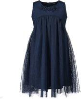Blue Seven Meisjes jurk - donkerblauw - Maat 122