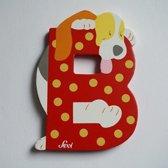 Sevi - Houten Dieren Letter B - rood