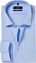 Seidensticker ovehemd tailored fit pop blue, maat 44