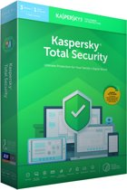 Kaspersky Total Security - Multi-Device - 3 Apparaten - 1 Jaar - Nederlands / Frans - Windows / Mac Download