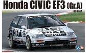 Aoshima modelbouw pakket : Honda Civic EF3  Gr.A  PIAA  1:24