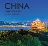 China Calendar 2020: 16 Month Calendar