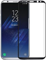 Glazen screenprotector voor Samsung Galaxy S8 Plus (ZWART) | Tempered glass | Gehard glas