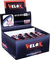 Velox 15 stuks CO2 patronen 16g met draad