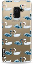 Casetastic Softcover Samsung Galaxy A8 (2018) - Swan Party