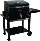 Boretti Carbone Houtskoolbarbecue - Zwart
