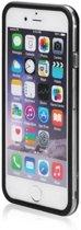 Bumper case hoesje voor iPhone 8 Plus transparant zwart