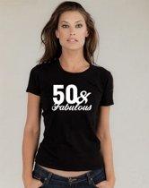Sarah 50 jaar t-shirt / 50 & Fabulous / Fabulous 1969 / kado tip / Vrouwen / cadeau / Sarah / MAAT XL