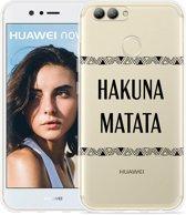 Huawei Nova 2 Hoesje Hakuna Matata black