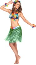 Groen hawaiiaanse rok voor volwassenen - Volwassenen kostuums