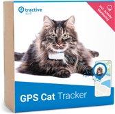 Tractive IKATI GPS tracker kat Editie 2020. Kat gps-tracker voor elke kattenhalsband - Aanpasbaar aan uw halsband - met activiteitentracker