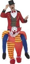 Instapkostuum circus clown voor volwassenen - clownspak