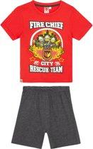 LEGO-CITY Pyjama met korte mouw - rood - Maat 128