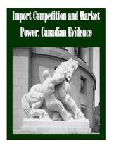 Import Competition and Market Power