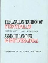 The Canadian Yearbook of International Law, Vol. 36, 1998