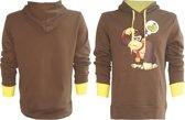 Nintendo - Brown. Donkey Kong Hoodie (Tr) - XL