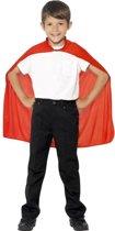 Rode cape voor kinderen - Verkleedattribuut