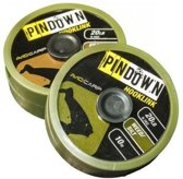 Avid Carp pindown hooklink 20LB - gravel | 10M | gevlochten onderlijn